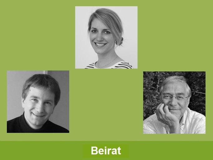 """""""Beirat"""": Prortaitaufnahmen von Gerald Hüther, Verena Hermelingmeier und Björn Risch"""