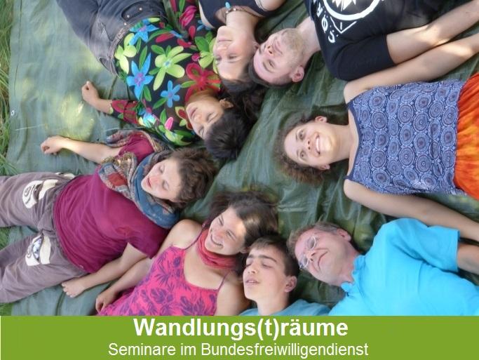 Überblick der Seminare: Wandlungs(t)räume. Seminare im Bundesfreiwilligendienst