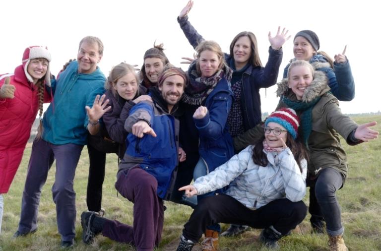 Gruppenphoto - Bildungs- und Bewusstseinswandel voranbringen