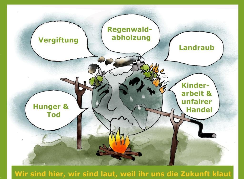 Welternährung und globale Landwirtschaft - Erde am Bratspieß